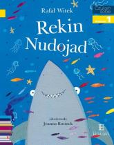 Czytam sobie Rekin Nudojad poziom 1 - Rafał Witek | mała okładka