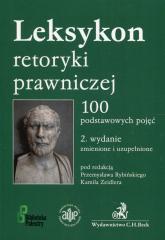 Leksykon retoryki prawniczej 100 podstawowych pojęć -  | mała okładka