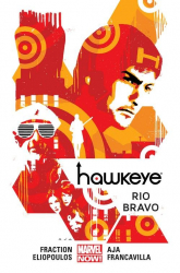 Hawkeye Tom 4 Rio Bravo - Fraction Matt, Aja David, Eliopoulos Chris, F | mała okładka