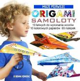 Moje Pierwsze Origami Samoloty - Marcelina Grabowska-Piątek   mała okładka