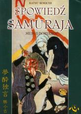 Spowiedź samuraja - Katsu Kokichi | mała okładka