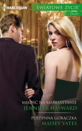 Miłość na Manhattanie - Jennifer Hayward | mała okładka