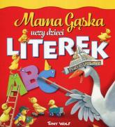 Mama Gąska uczy dzieci literek - Anna Casalis | mała okładka