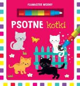 Flamaster wodny Psotne kotki -  | mała okładka