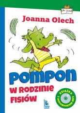 Pompon w rodzinie Fisiów z audiobookiem - Joanna Olech | mała okładka