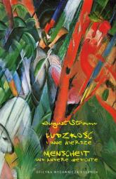 Ludzkość i inne wiersze Menscheit Und Andere Gedichte - August Stramm   mała okładka
