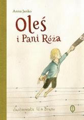 Oleś i Pani Róża - Anna Janko | mała okładka
