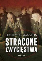 Stracone zwycięstwa - Erich Manstein | mała okładka