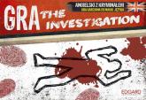 The Investigation Angielski z kryminałem Gra karciana do nauki języka -    mała okładka