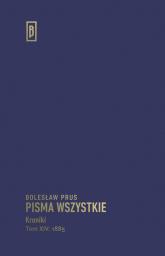 Kroniki Tom XIV (1885) - Bolesław Prus | mała okładka