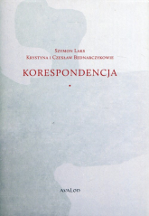 Szymon Laks Krystyna i Czesław Bednarczykowie Korespondencja -  | mała okładka