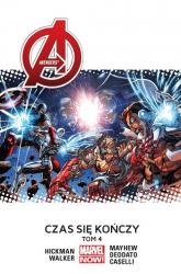 Avengers Tom 4 Czas się kończy - Jonathan Hickman | mała okładka