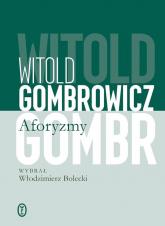 Aforyzmy - Witold Gombrowicz | mała okładka