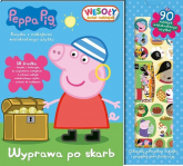 Peppa Pig Wesoły świat naklejek Wyprawa po skarb -  | mała okładka