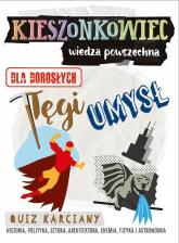 Kieszonkowiec wiedza powszechna Tęgi umysł - Witkowska Magdalena, Stowe Marta, Serwatka Józef   mała okładka