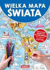 Mapa Świata -  | mała okładka
