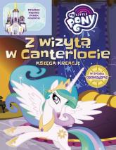 My Little Pony Zamek Celestii Książka młodego konstruktora - Marta Jamrógiewicz | mała okładka