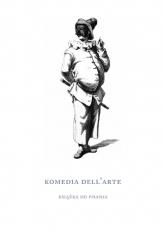 Komedia dell'arte Książka do pisania -  | mała okładka