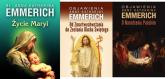 Objawienia o Narodzeniu Pańskim / Życie Maryi / Objawienia. Od Zmartwychwstania do Zesłania Ducha Świętego Pakiet - Katharina Emmerich | mała okładka