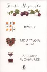 Baśnik / Moja twoja wina / Zapisane w chmurze Pakiet - Beata Majewska | mała okładka