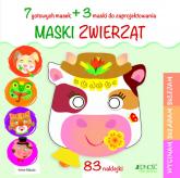 Maski zwierząt - Irene Mazza | mała okładka