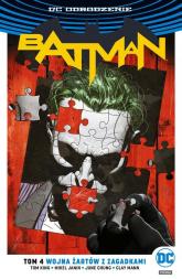 Batman Tom 4 Wojna Żartów z Zagadkami - Tom King   mała okładka
