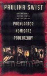 Prokurator / Komisarz / Podejrzany Pakiet - Paulina Świst | mała okładka