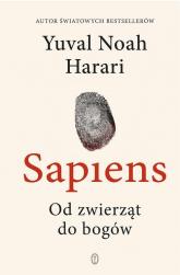 Sapiens Od zwierząt do bogów - Harari Yuval Noah | mała okładka