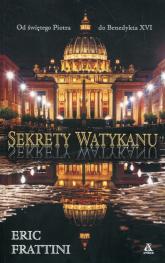 Sekrety Watykanu - Eric Frattini | mała okładka