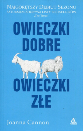 Owieczki dobre owieczki złe - Joanna Cannon | mała okładka