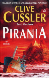 Pirania cykl Oregon - Clive Cussler | mała okładka