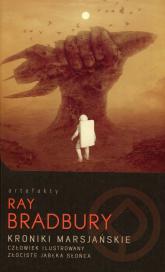 Kroniki marsjańskie Człowiek ilustrowany Złociste jabłka słońca - Ray Bradbury   mała okładka