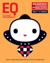 EQ Inteligencja emocjonalna dla 3-4 latków nowe zabawy z poradami psychologa. Książka z naklejkami. -  | mała okładka