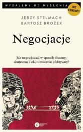 Negocjacje - Stelmach Jerzy, Brożek Bartosz | mała okładka