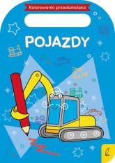 Kolorowanki przedszkolaka Pojazdy -  | mała okładka