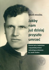 Jakby nam już dzisiaj przyszło umrzeć Dramat życia kapłaństwa i męczeńskiej śmierci czyhoskiego proboszcza ks. Josefa Toufara - Milos Dolezal | mała okładka
