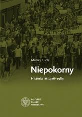 NIepokorny - Maciej Klich | mała okładka