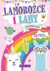 Kolorowanka Lamorożce z naklejkami -  | mała okładka
