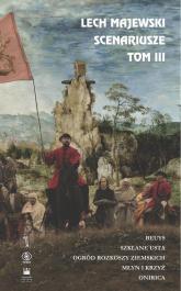 Scenariusze Tom 3 - Lech Majewski | mała okładka