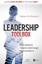 Leadership ToolBox Narzędzia nowoczesnego menedżera - Bokacki Robert St. | mała okładka