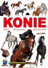 Konie rasy pielęgnacja jeździectwo - Joanna Werner | mała okładka