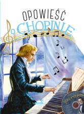 Opowieść o Chopinie + CD - Przemysław Zdrok | mała okładka
