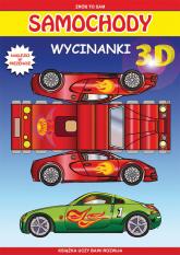 Samochody Wycinanki 3D Naklejki w prezencie - Krzysztof Tonder | mała okładka