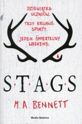 STAGS - M.A. Bennett | mała okładka