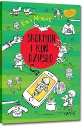 Skorpion i koń Dziąsło - Ewa Nowak | mała okładka