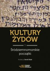 Kultury Żydów Tom 1 Środziemnomorskie początki Nowa historia -  | mała okładka