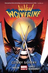 All-New Wolverine Cztery siostry - Tom Taylor | mała okładka