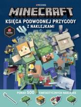 Minecraft Księga podwodnej przygody z naklejkami -  | mała okładka