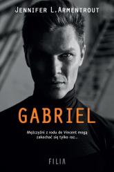 Gabriel - L. Armentrout Jennifer | mała okładka
