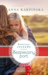 Bezpieczny port - Anna Karpińska | mała okładka